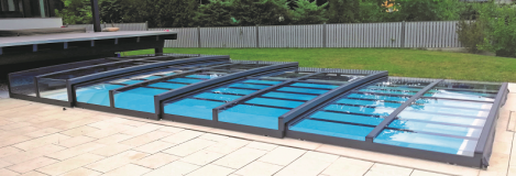 Nevada Trio für Pool 8,0 x 4,0 m (mit Poolumrandung)