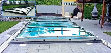 Montana für Pool 7,0 x 3,5 m (ohnePoolumrandung)